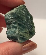 Dark Green And Blue Aquamarine Crystal Rough ~ Brazil