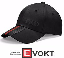 Audi Unisex Black Baseball Premium Cap 3131401000 Genuine New Collection 2015