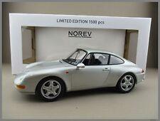 Porsche 911 Carrera 1993  in silber metallic  Limitiert  Norev 1:18  OVP  NEU