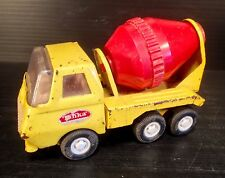 Vintage Mini TONKA Cement Mixer Truck - Great Patina!