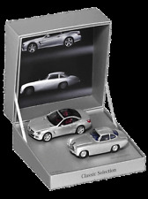 Minichamps Mercedes Benz Doppelset 300SL W194 / SL Class R231 Gift Box! New!