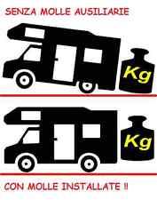 Kit Molle Rialzo FIAT DUCATO 230 244 Stabilizzatrici Camper Motorhome sino 2006