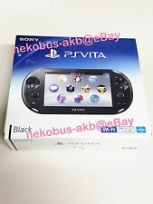 [Brand New] PS Vita Wi-Fi Console [Black] [PCH-2000 ZA11] [Japan] PSV
