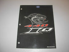 2006 Polaris 440 IQ Snowmobile Factory Service Manual , p/n 9919760