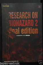JAPAN Resident Evil 2:Research on Biohazard 2 Final edition OOP