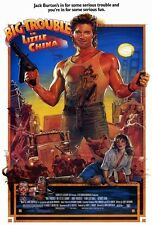 """Big Trouble In Little China Movie Poster [Licensed-New-USA] 27x40"""" Theater Size"""