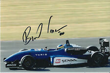 Bruno Senna Hand Signed Raikkonen Robertson Racing 9x6 Photo 3.