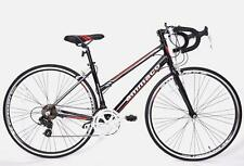 AMMACO XRS650 FRAME 43cm GENUINE LADIES FRAME ALLOY RACING ROAD BIKE BLACK/RED