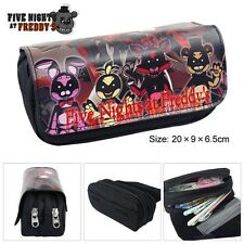 Five Night at Freddy's FNAF Student Zipper Pencil Case Bag Pouch Purse Xmas Gift