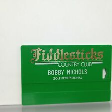 Fiddlesticks Country Club golf bag Tag Fort Ft Myers Florida
