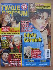 TWOJE IMPERIUM 11/2015 E.GORNIAK,Robert De Niro,Gary Glitter,Madonna,Katie Price
