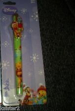 DISNEY WINNIE THE POOH CHRISTMAS  REFILLABLE PEN HOLIDay pen lanyard clasp xmas