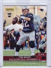 2016 Panini Instant #279 Tom Brady Becomes All-Time Winningest QB - Only 92 made