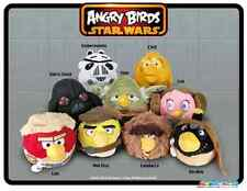 Original sample set of Star Wars Angry Birds plush toys