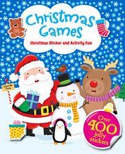 CHRISTMAS GAMES: CHRISTMAS STICKER & ACTIVITY FUN WITH +400 JOLLY STICKERS - NEW