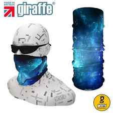 G482 UK Multifunctional Headwear Neckwarmer Snood Scarf Bandana Headband Tube