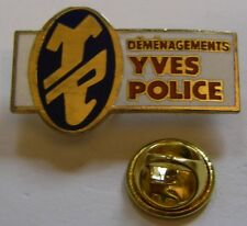 Pin's YP Déménagements YVES POLICE