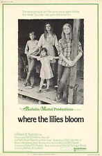 WHERE THE LILIES BLOOM Movie POSTER 11x17 Julie Gholson Jan Smithers Matthew
