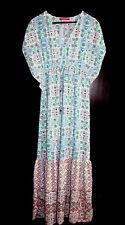 Quality VERY Resort Patterned Long Length Maxi Style Dress Unworn - Shop Direct