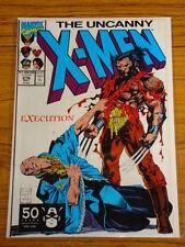 X-MEN UNCANNY #276 MARVEL COMICS JIM LEE ART MAY 1991