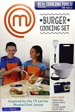 MasterChef Junior Burger Cooking Set Fun Kitchen Play As Seen On TV New in Box