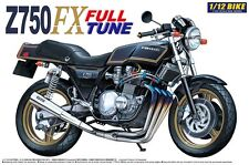 Kawasaki Z750 FX Full Tune Bike Motorrad Z 750 in 1:12 Model Kit Aoshima 042168
