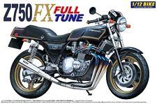 Kawasaki Z750 FX Full Tune Bike Motorrad Z 750 in 1:12 Model Kit Aoshima 042168