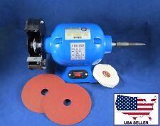Dental Laboratory Lab Polisher Buffer Grinder Trimmer Motor 003-3 dentQ 110V
