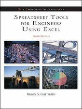 Spreadsheet Tools for Engineers Using Excel by Byron S. Gottfried (2005,...