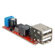 Dual USB Output 9V/12V/24V/36V to 5V DC-DC 3A Step Down Power Module Converter