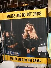 Al Pacino Cruising Drag Cops Caution Tape Shower Curtain Gay Leather Fetish 70's