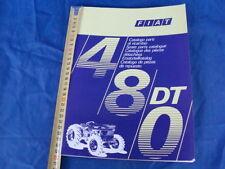 SUPPLEMENTO CATALOGO PARTI DI RICAMBIO TRATTORE FIAT 480 DT 1973 1° EDIZIONE