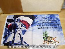 Fahnen Flagge Deutsches Reich Wer Gott vertraut - 90 x 150 cm