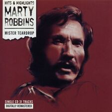 Marty Robbins 'Mister Teardrop' CD New