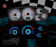 MITSUBISHI EVO 7/8/9 WHITE SPEEDO DIAL KIT DASH LIGHTING UPGRADE