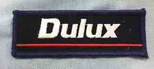 #D519.    DULUX  PAINT  SPONSOR  CLOTH PATCH
