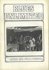 BLUES UNLIMITED No 81 Apr 1971 Scott Dunbar KC Douglas Lightnin Slim Gus Jenkins