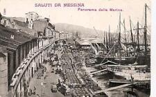 SALUTI DA MESSINA  -  Panorama della Marina  #