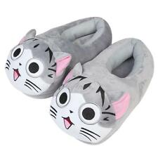 Soft warm Cartoon Cat Plush Stuffed Slipper Home Plush Shoes