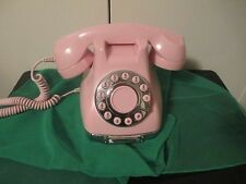 PINK METRO PHONE Retro 1950s Style Collectible Telephone Slide-Out Note Drawer