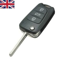 3 Button Remote Flip Key Fob Fits Kia Seed Picanto Sportage Hyundai i20 i30 ix35