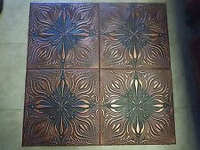 Glue Up -Faux Ceiling Tiles R9 Accent Black Copper SALE!!
