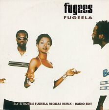 "FUGEES ""FUGEELA REGGAE REMIX"" RARE SPANISH PROMO CD SINGLE / LAURYN HILL - SLY"