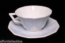 Nymphenburg Blue Perl Symphony Demitasse Cup and Saucer