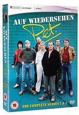 AUF WIEDERSEHEN PET SERIES 1-2 DVD BOX SET NEW