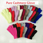 Mongolia Pure Cashmere Woman Women Wool Gloves -Black Green Yellow Red
