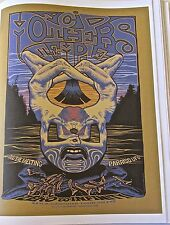 Acid Mothers Temple 2010 Concert Poster  North American Tour 14x10