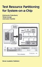 Test Resource Partitioning for System-on-a-Chip (Frontiers in Electronic Testing