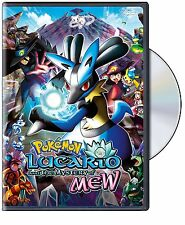 POKEMON :LUCARIO & THE MYSTERY OF MEW -  DVD - REGION 1 - Sealed