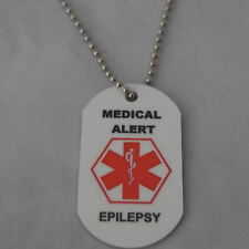 Medical Alert Necklace for Epilepsy